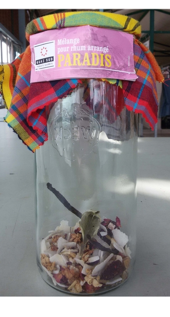 kit rhum arrang paradis en bocal epicerie fine kit rhum arrang lulu shop