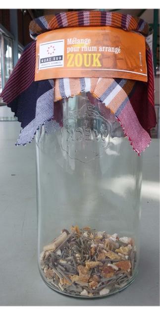 kit rhum arrang zouk en bocal epicerie fine kit rhum arrang lulu shop