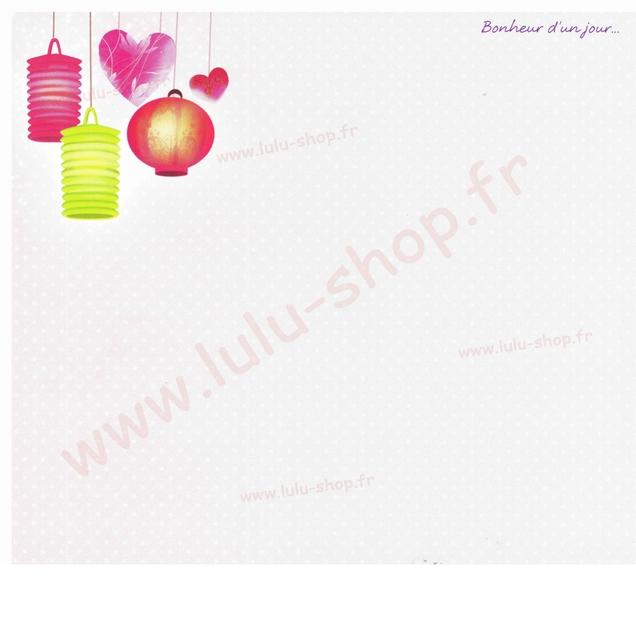 www.lulu-shop.fr carte postale Bonheur dun jour