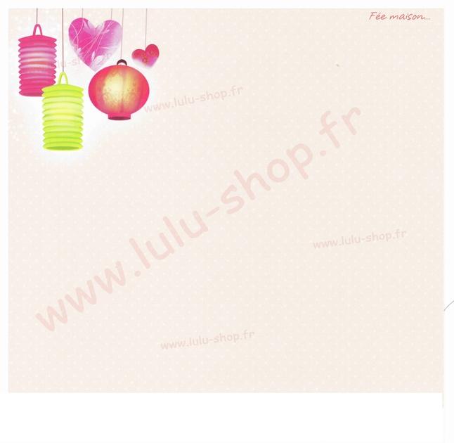 www.lulu-shop.fr carte postale Fée Maison !