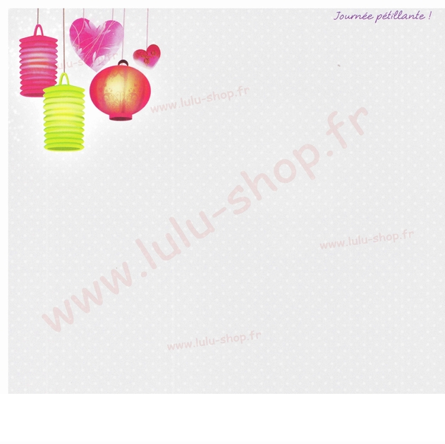 www.lulu-shop.fr carte postale Journée Pétillante !