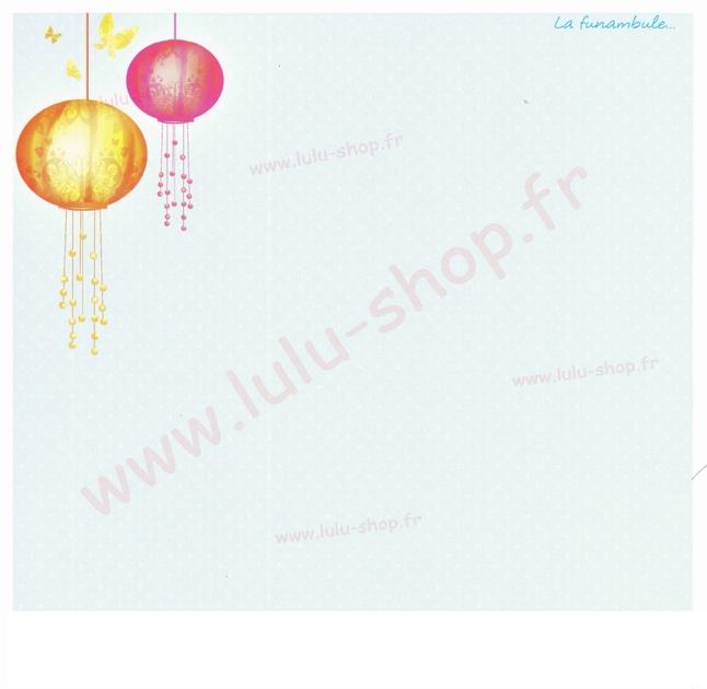 www.lulu-shop.fr carte postale La funambule