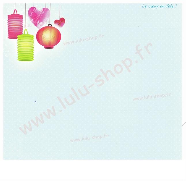 www.lulu-shop.fr carte postale Le coeur en fête !