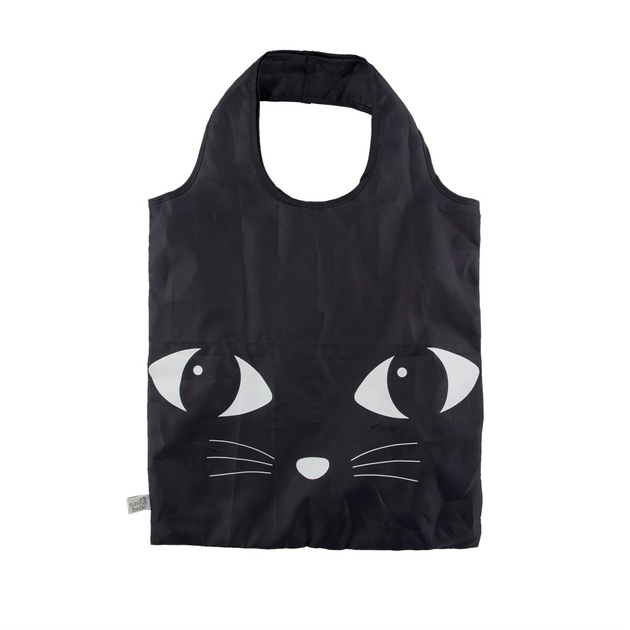 www.lulu-shop.fr sac tote bag chat noir