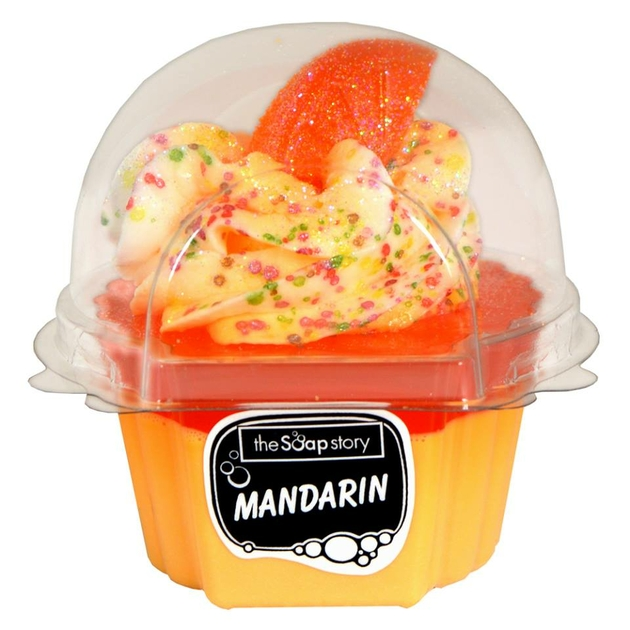 Savon Cupcake mandarine The Soap Story - Lulu Shop
