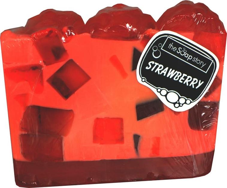 Tranche de savon fraise lulu shop