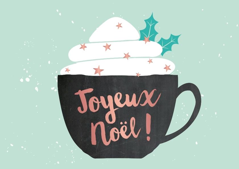Carte Postale Joyeux Noël - Noël/Cartes Postales de Noël / Stylos de Noël - Lulu Shop
