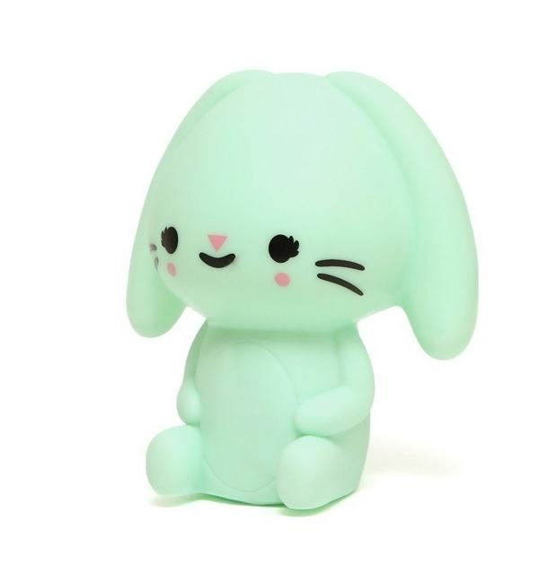 Bunny night light mint 2