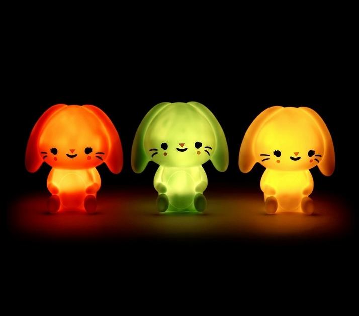 Bunny night light mint 4