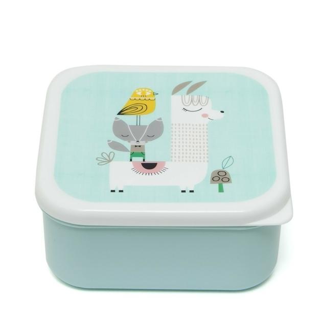 Lunchbox set Lama & Friends 2
