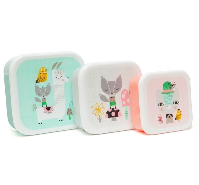 Lunchbox set Lama & Friends Lulu Shop