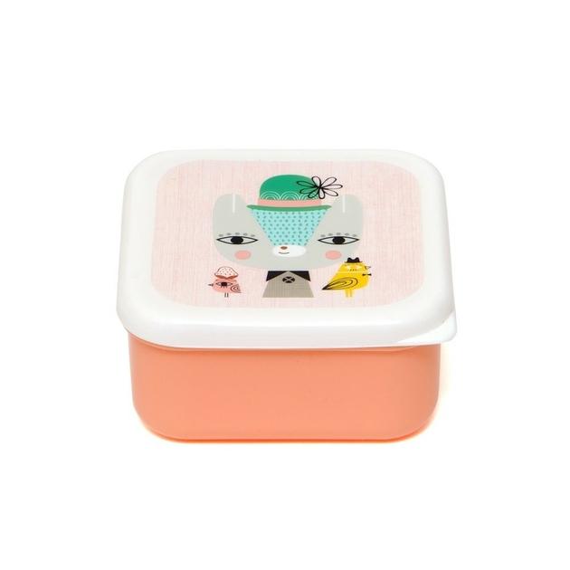 Lunchbox set Lama & Friends 4