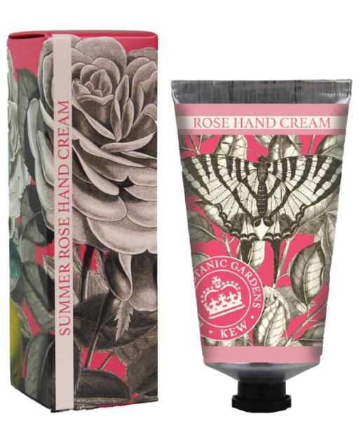 Crème Mains Jardins botaniques royaux de Kew Rose d'été lulu shop