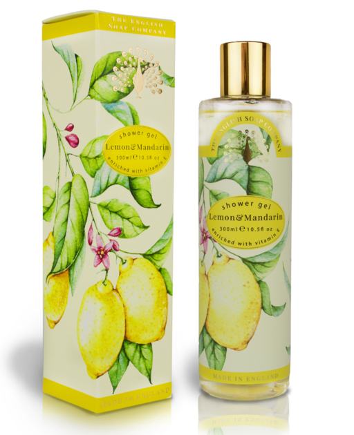 Gel douche d'exception citron et mandarine lulu shop 1