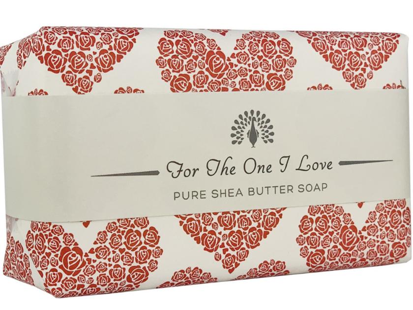The english soap company Savon Occasion Spécial Pour mon seul amour coeur rose.rouge lulu shop