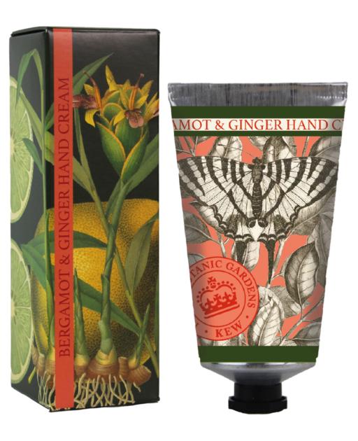 lulu shop Crème Mains Jardins Botaniques Royaux de Kew  Bergamote et gingembre