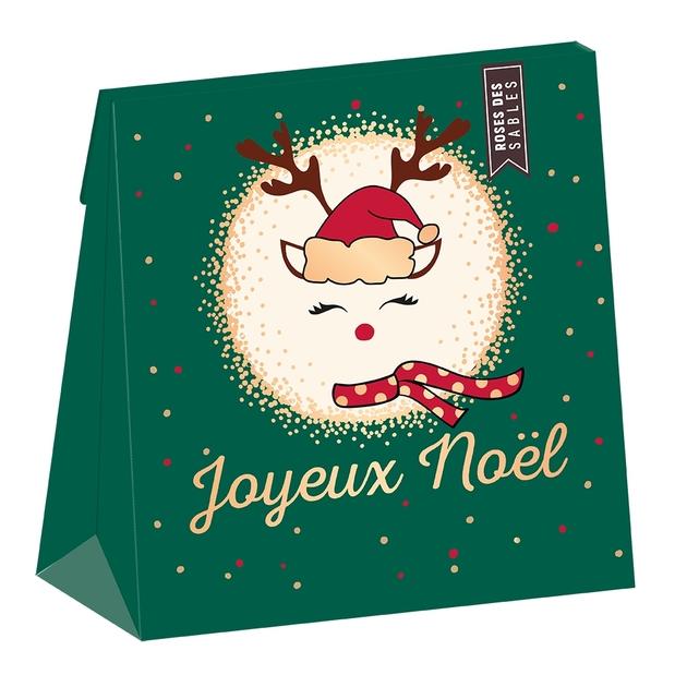 Lulu-Shop.fr Gourmandises Roses des sables 80g fin d'année Joyeux Noël 16245