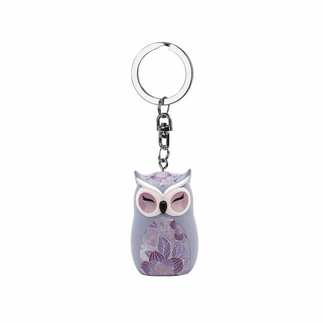 Porte clés Chouette Wise Wings Connaissance lulu shop 1