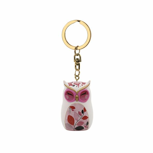 Porte clés Chouette Wise Wings Sagesse lulu shop 1