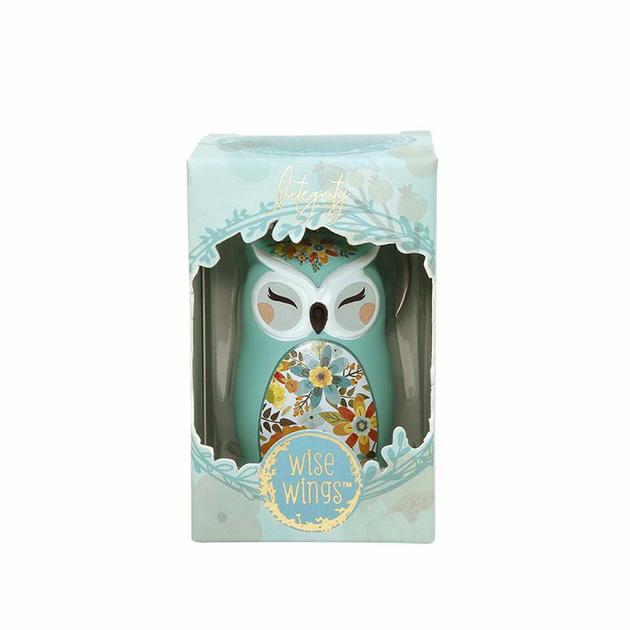 Porte clés Chouette Wise Wings Intégrité lulu shop 2