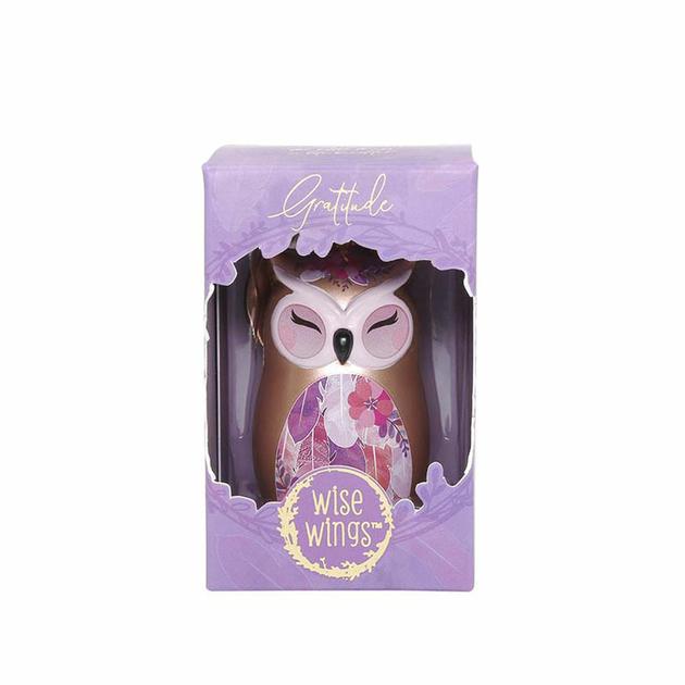 Porte clés Chouette Wise Wings Gratitude Lulu shop 2