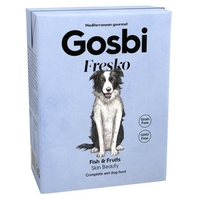 Pâtée Gosbi Fresko Fish & Fruits 375gr