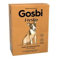 Pâtée Gosbi Fresko Turkey & Chicken 375gr