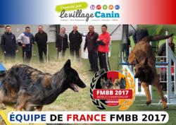 Equipe de France FMBB 2017