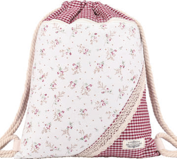 GYMBAG PATCHWORK 100% COTON MODELE 18