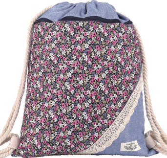 GYMBAG PATCHWORK 100% COTON MODELE 15