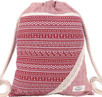 GYMBAG PATCHWORK 100% COTON MODELE 11
