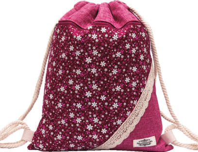 GYMBAG PATCHWORK 100% COTON MODELE 14