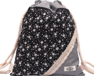 GYMBAG PATCHWORK 100% COTON MODELE 7