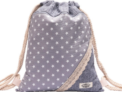 GYMBAG PATCHWORK 100% COTON MODELE 4