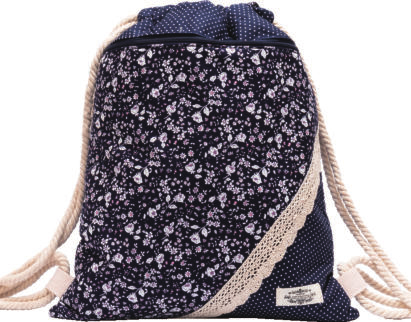 GYMBAG PATCHWORK 100% COTON MODELE 3