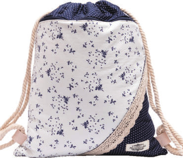 GYMBAG PATCHWORK 100% COTON MODELE 2