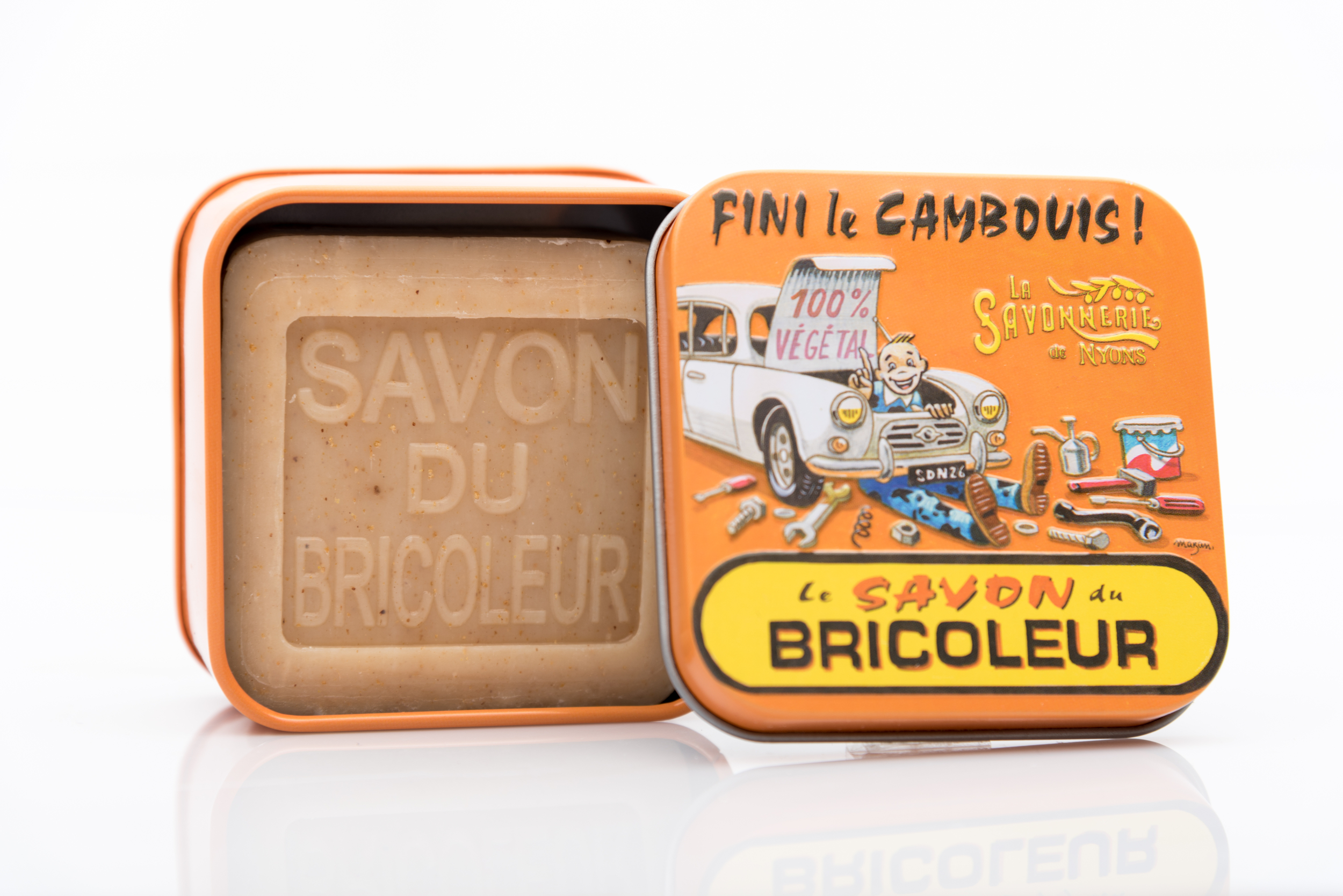 SAVON DU BRICOLEUR 100 GRAMMES