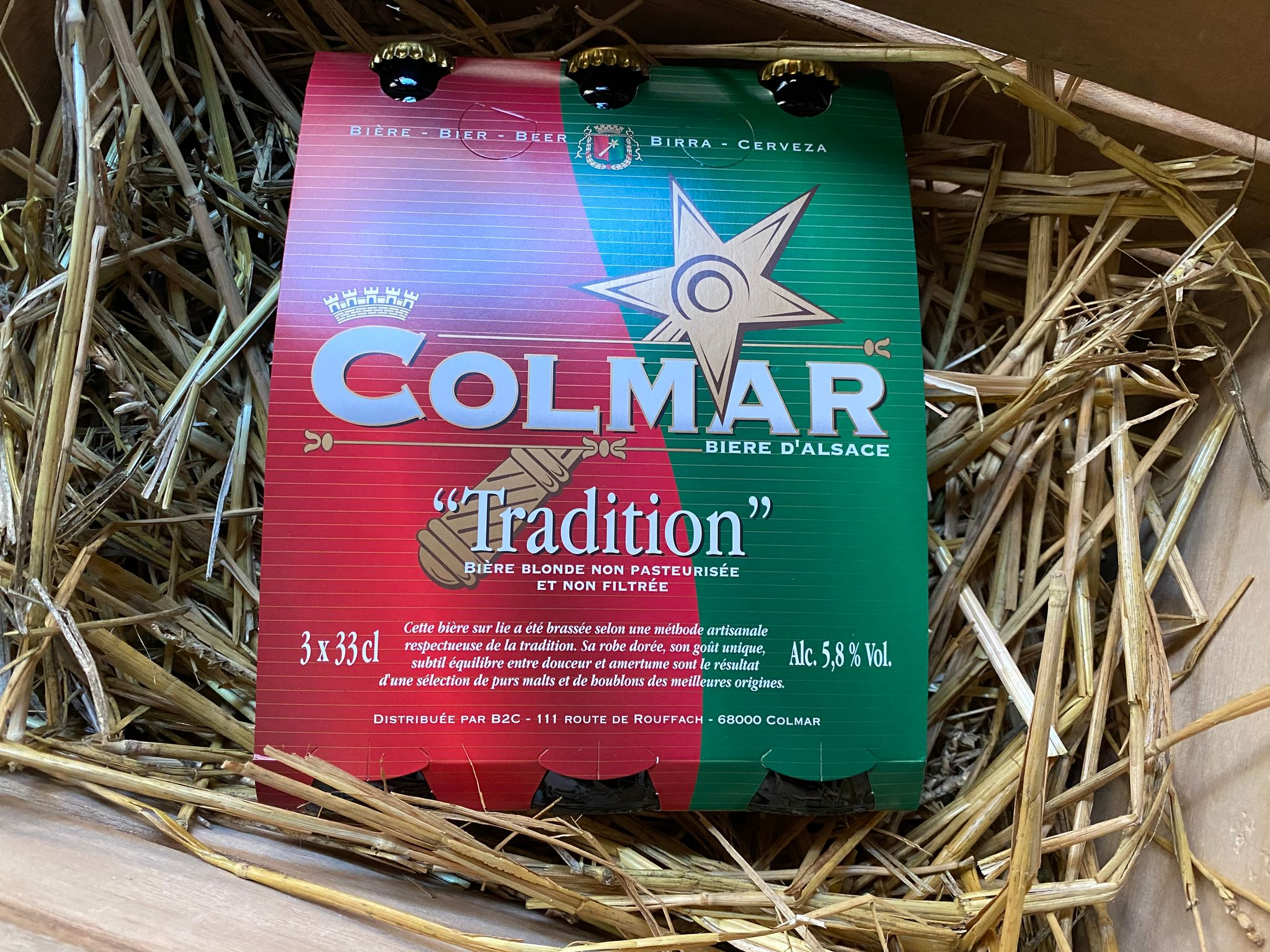 COFFRET 3 BIERES 33CL COLMAR TRADITION