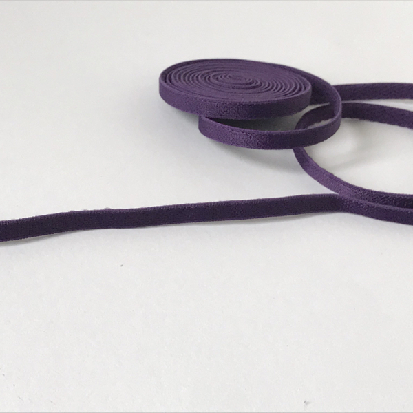 Bretelle élastique fin violet 5 mm