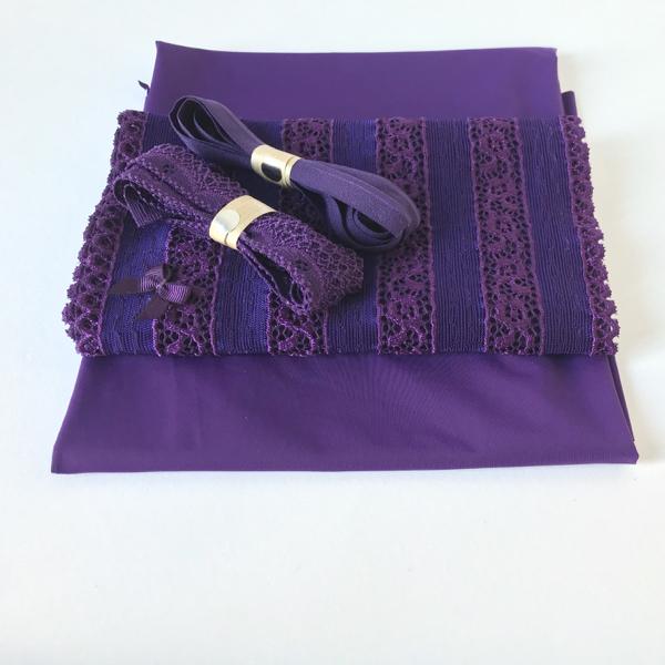 Kit lingerie violet