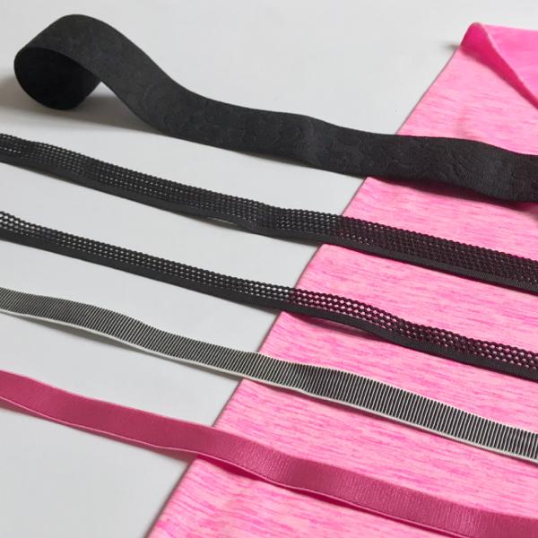 Kit Lingerie sport fuchsia et noir
