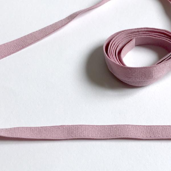 Bande élastique dos 10 mm mauve