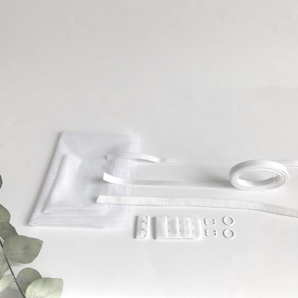 Kit lancement soutien-gorge blanc