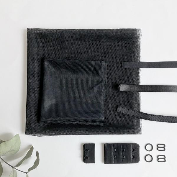 Kit lancement soutien-gorge noir