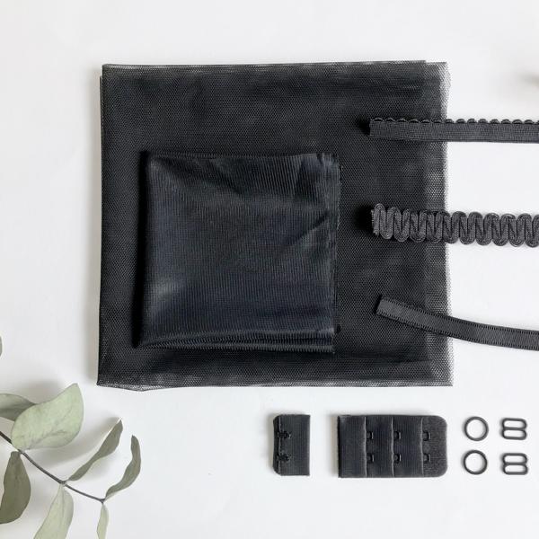 Kit lancement soutien-gorge fantaisie noir
