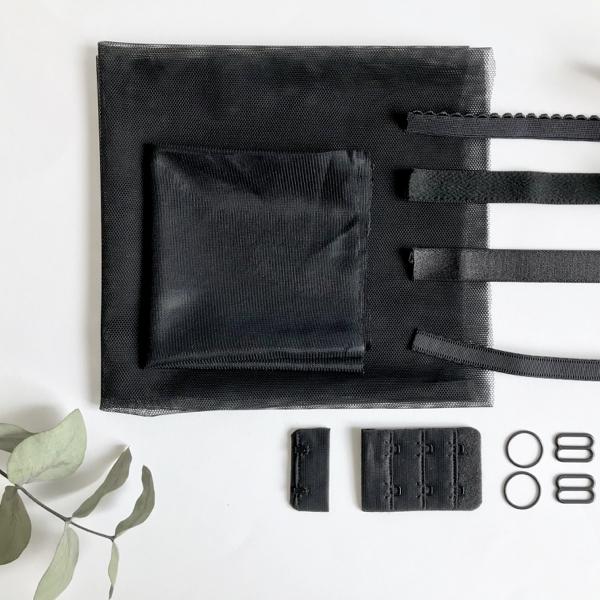 Kit lancement soutien-gorge grande taille noir