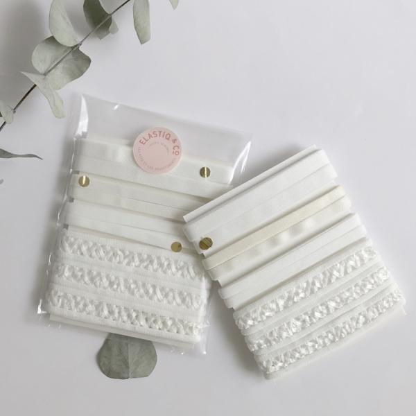 Assortiment élastiques Blanc