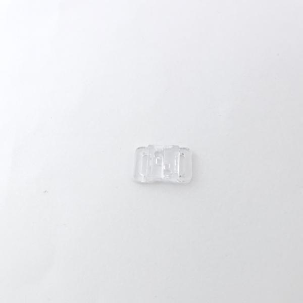 Fermoir Maillot de Bain Plastique 10 mm