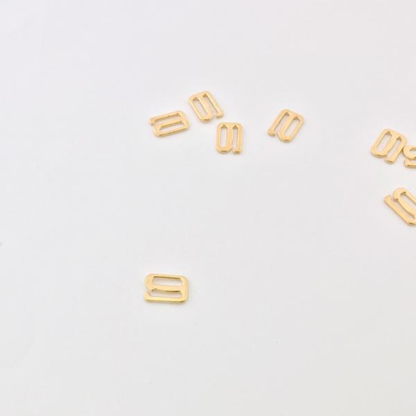 Crochet doré 10 mm