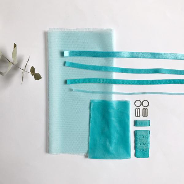 Kit lancement soutien-gorge turquoise